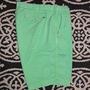 Neon Green Polo Ralph Lauren Shorts
